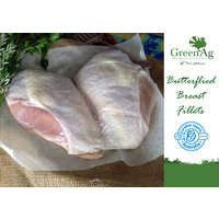 Turkey Butterflied Breast - Skin On