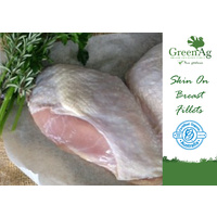 Turkey Breast Skin On 650g